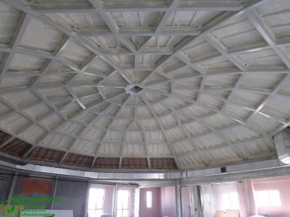 Izolatii spuma poliuretanica cupole lemn / Izolatie-spuma-poliuretanica-cupola-lemn-16