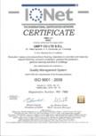 Certificat - IQNet ISO 9001-2008