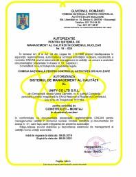Autorizatie CNCAN Constructii-Montaj