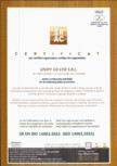 CERTIFICATE SRAC - ISO 14001 - 2015�