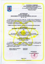 Autorizatie CNCAN Unify UNIFY