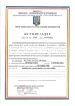 Pardoseli epoxidice artistice - Autorizatie ignifugare a materialelor combustibile  UNIFY