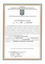Autorizatie ignifugare Unify UNIFY
