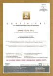 Certificat SR  OHSAS 18001-2008 UNIFY