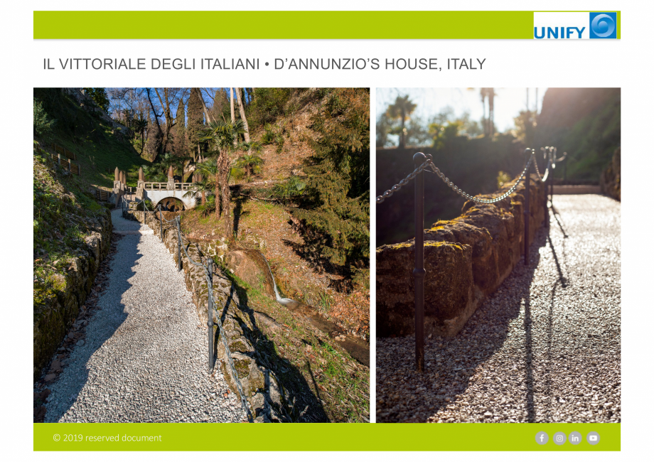 Pagina 9 - Sistemul Urban Design IPM GeoDrena UNIFY Catalog, brosura Engleza
