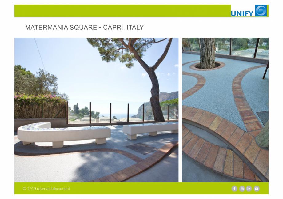 Pagina 13 - Sistemul Urban Design IPM GeoDrena UNIFY Catalog, brosura Engleza