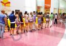 Pardoseli epoxidice artistice - Shopping Center  