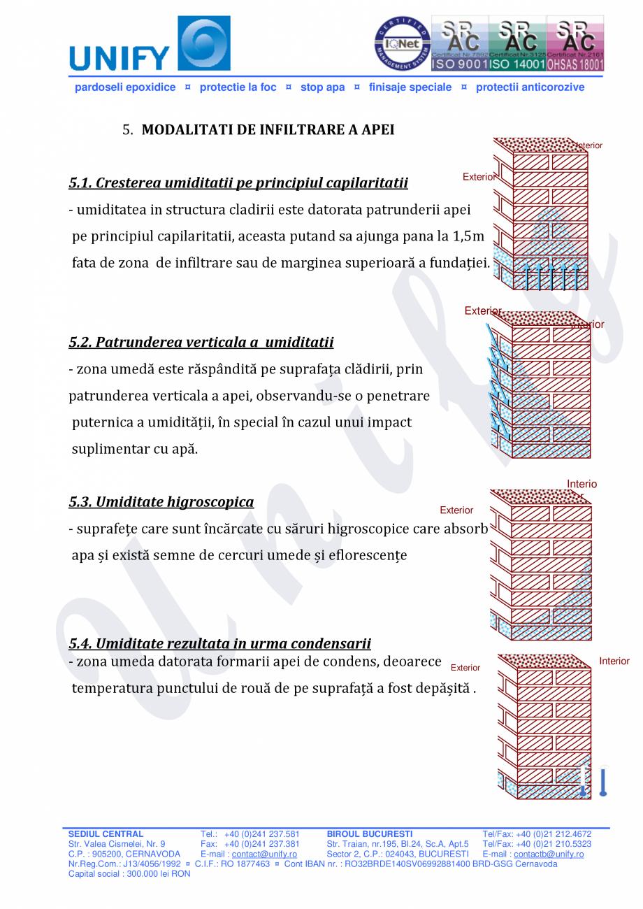 Pagina 4 - Injectii cu spuma si rasina poliuretanica WEBAC Catalog, brosura Romana pa uscare, cu...