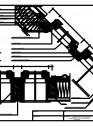 Ansamblu in bloc B2/2 de ferestre cu racord KZV
