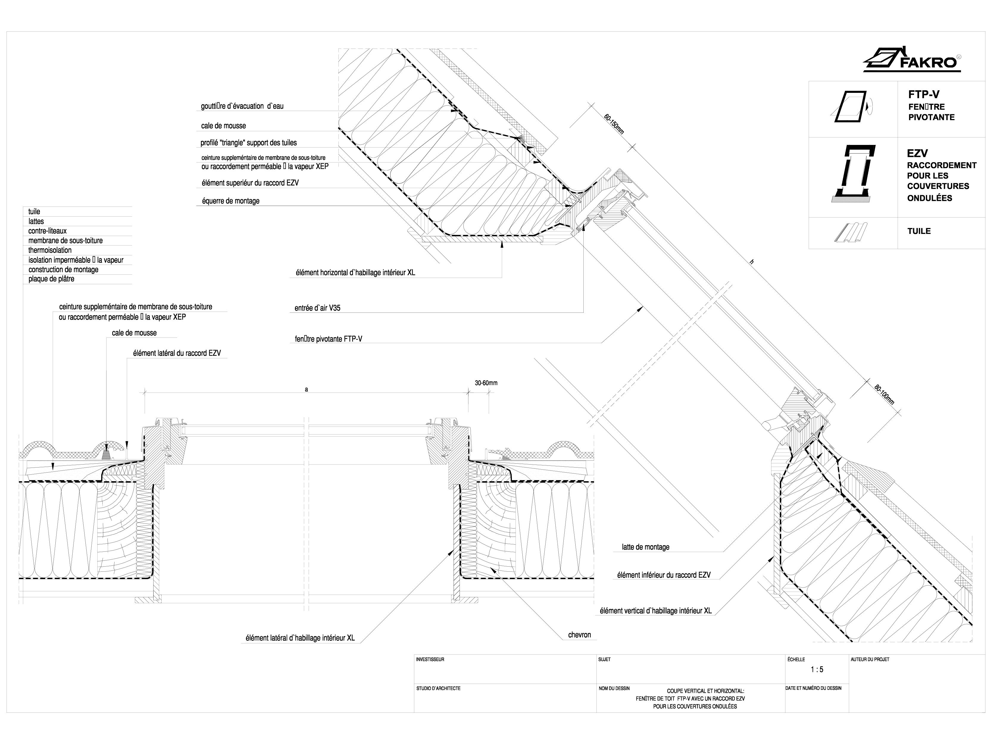 Pagina 1 - Fereastra cu articulare mediana - cu racord EZV FAKRO Ferestre de mansarda, ferestre de...