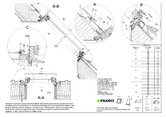 Fereastra de mansarda standard cu articulare mediana FAKRO
