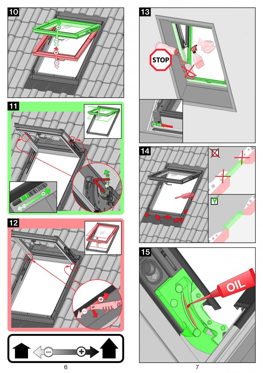 Pagina 4 - Ferestre de mansarda cu dubla articulare FAKRO PPP-V preSelect Instructiuni montaj,...