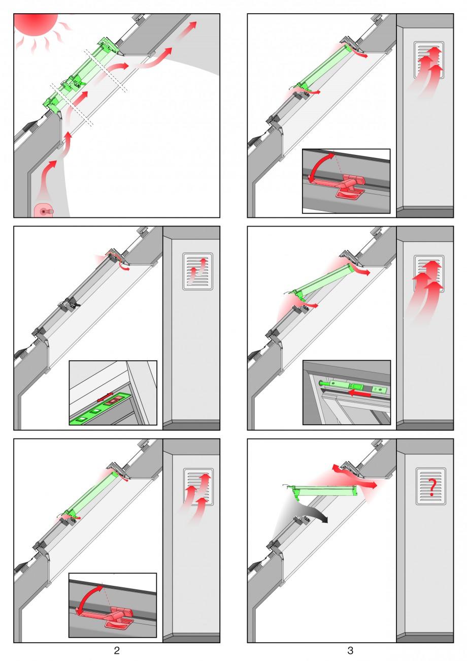Pagina 2 - Ferestre de mansarda superinalte FAKRO FDY-V Duet proSky Instructiuni montaj, utilizare...