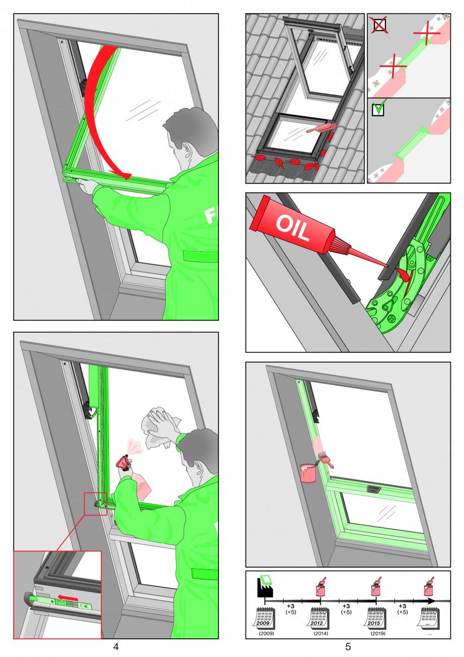 Pagina 3 - Ferestre de mansarda superinalte FAKRO FDY-V Duet proSky Instructiuni montaj, utilizare...