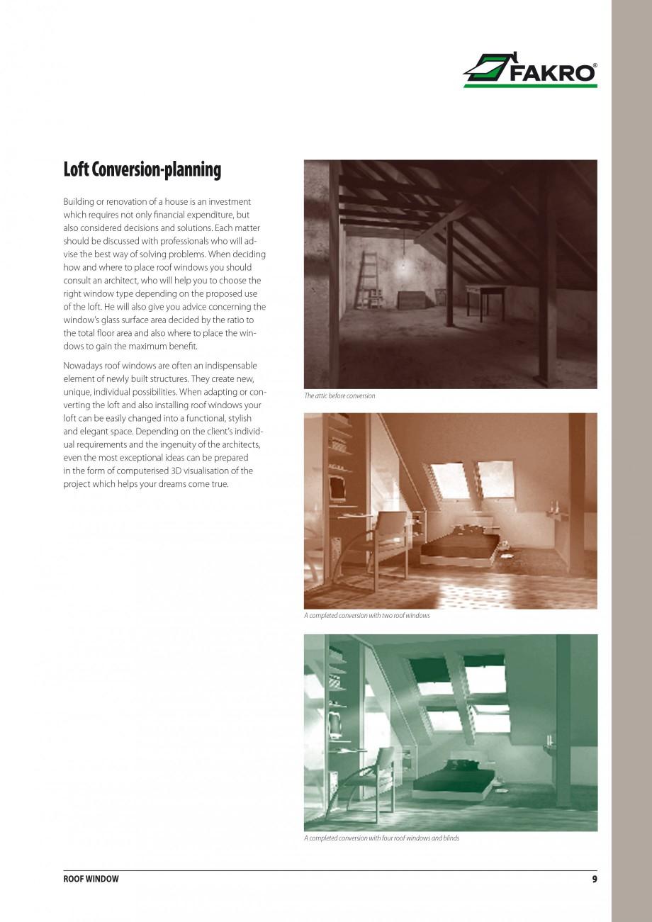 Pagina 2 - Ferestre de mansarda FAKRO ATIC, FGH-V Galeria, FTU-V Z-WAVE, FTP-V Z-WAVE, FTP R1, FTP-V...