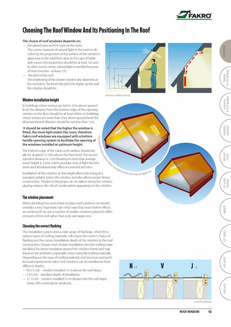 Pagina 6 - Ferestre de mansarda FAKRO BDR/ BDL, FGH-V Galeria, FTU-V Z-WAVE, FTP-V Z-WAVE, FTP-V R1,...