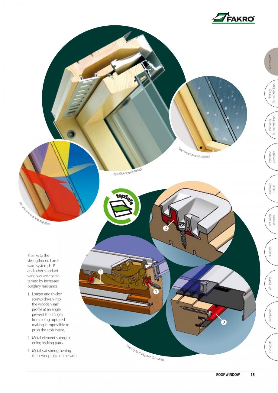 Pagina 8 - Ferestre de mansarda FAKRO BDR/ BDL, FGH-V Galeria, FTU-V Z-WAVE, FTP-V Z-WAVE, FTP-V R1,...