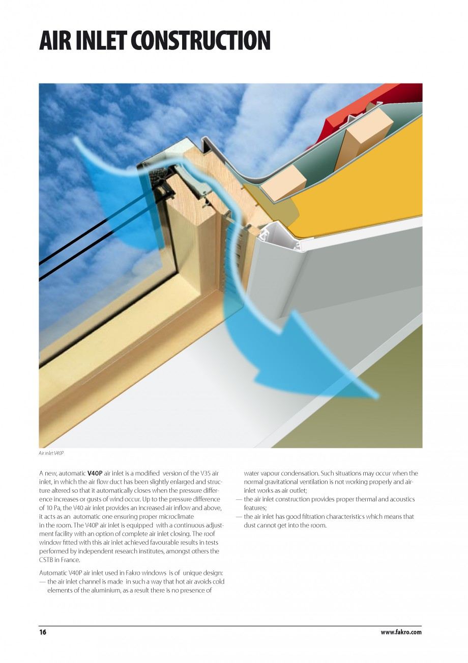 Pagina 9 - Ferestre de mansarda FAKRO BDR/ BDL, FGH-V Galeria, FTU-V Z-WAVE, FTP-V Z-WAVE, FTP-V R1,...