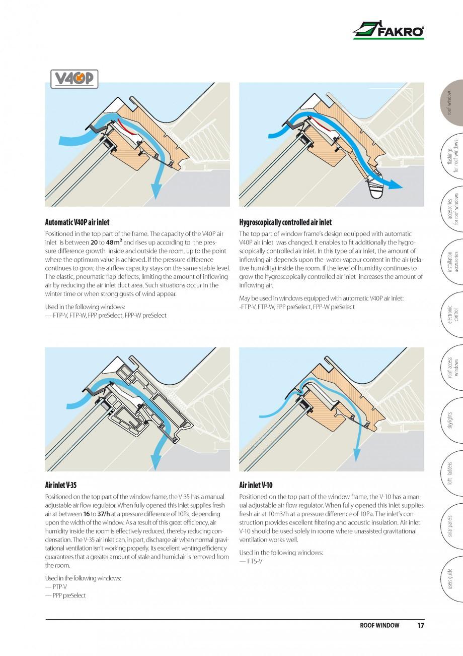 Pagina 10 - Ferestre de mansarda FAKRO BDR/ BDL, FGH-V Galeria, FTU-V Z-WAVE, FTP-V Z-WAVE, FTP-V R1...