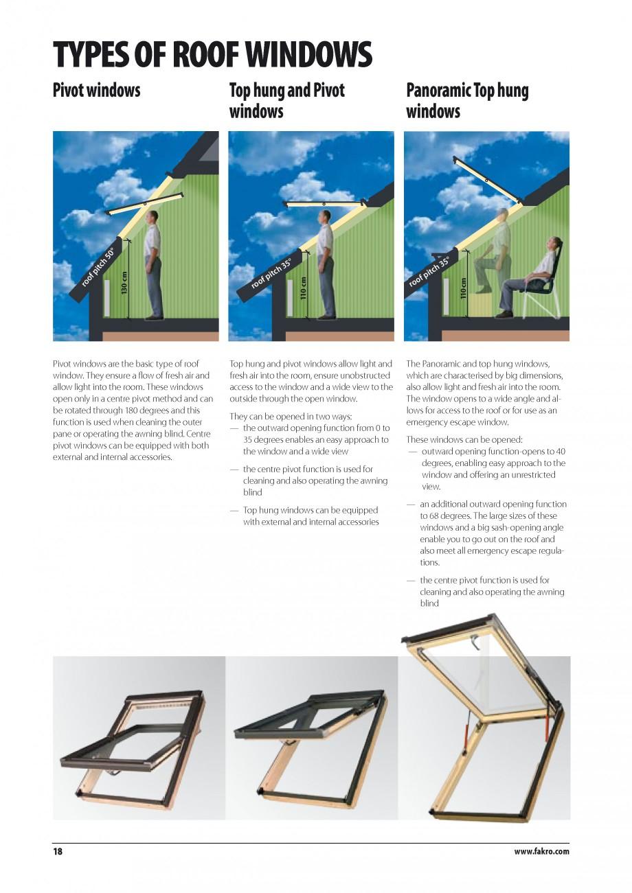 Pagina 11 - Ferestre de mansarda FAKRO ATIC, FGH-V Galeria, FTU-V Z-WAVE, FTP-V Z-WAVE, FTP R1,...