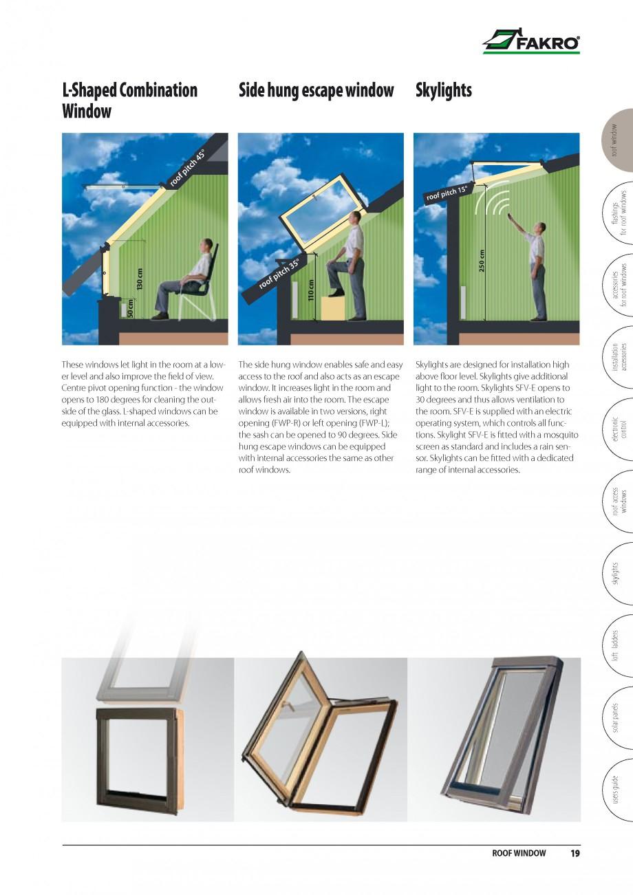 Pagina 12 - Ferestre de mansarda FAKRO BDR/ BDL, FGH-V Galeria, FTU-V Z-WAVE, FTP-V Z-WAVE, FTP-V R1...