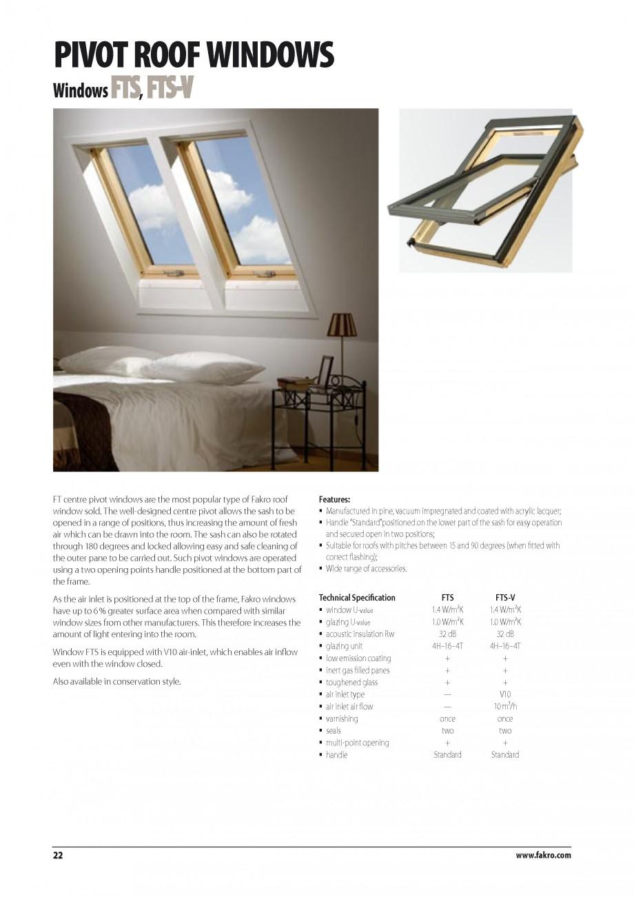 Pagina 15 - Ferestre de mansarda FAKRO BDR/ BDL, FGH-V Galeria, FTU-V Z-WAVE, FTP-V Z-WAVE, FTP-V R1...