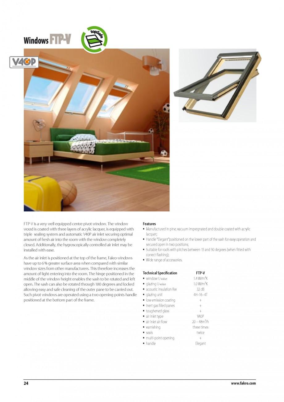 Pagina 17 - Ferestre de mansarda FAKRO ATIC, FGH-V Galeria, FTU-V Z-WAVE, FTP-V Z-WAVE, FTP R1,...