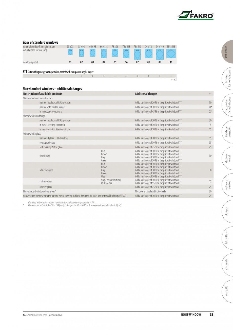 Pagina 26 - Ferestre de mansarda FAKRO ATIC, FGH-V Galeria, FTU-V Z-WAVE, FTP-V Z-WAVE, FTP R1,...
