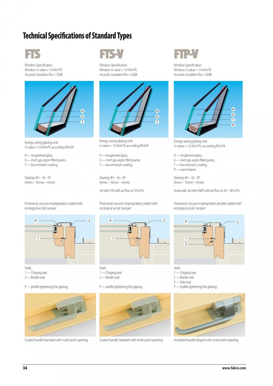 Pagina 27 - Ferestre de mansarda FAKRO BDR/ BDL, FGH-V Galeria, FTU-V Z-WAVE, FTP-V Z-WAVE, FTP-V R1...