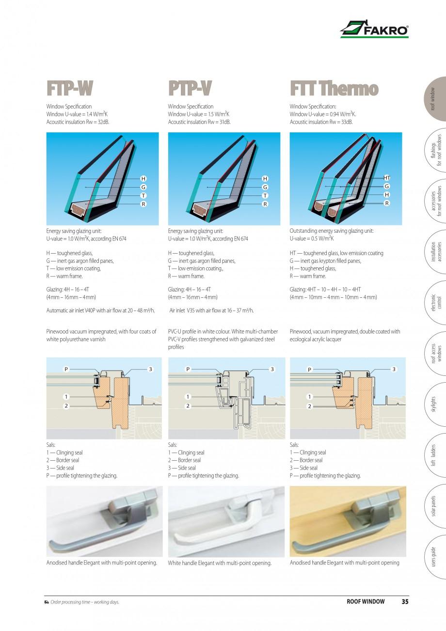 Pagina 28 - Ferestre de mansarda FAKRO BDR/ BDL, FGH-V Galeria, FTU-V Z-WAVE, FTP-V Z-WAVE, FTP-V R1...
