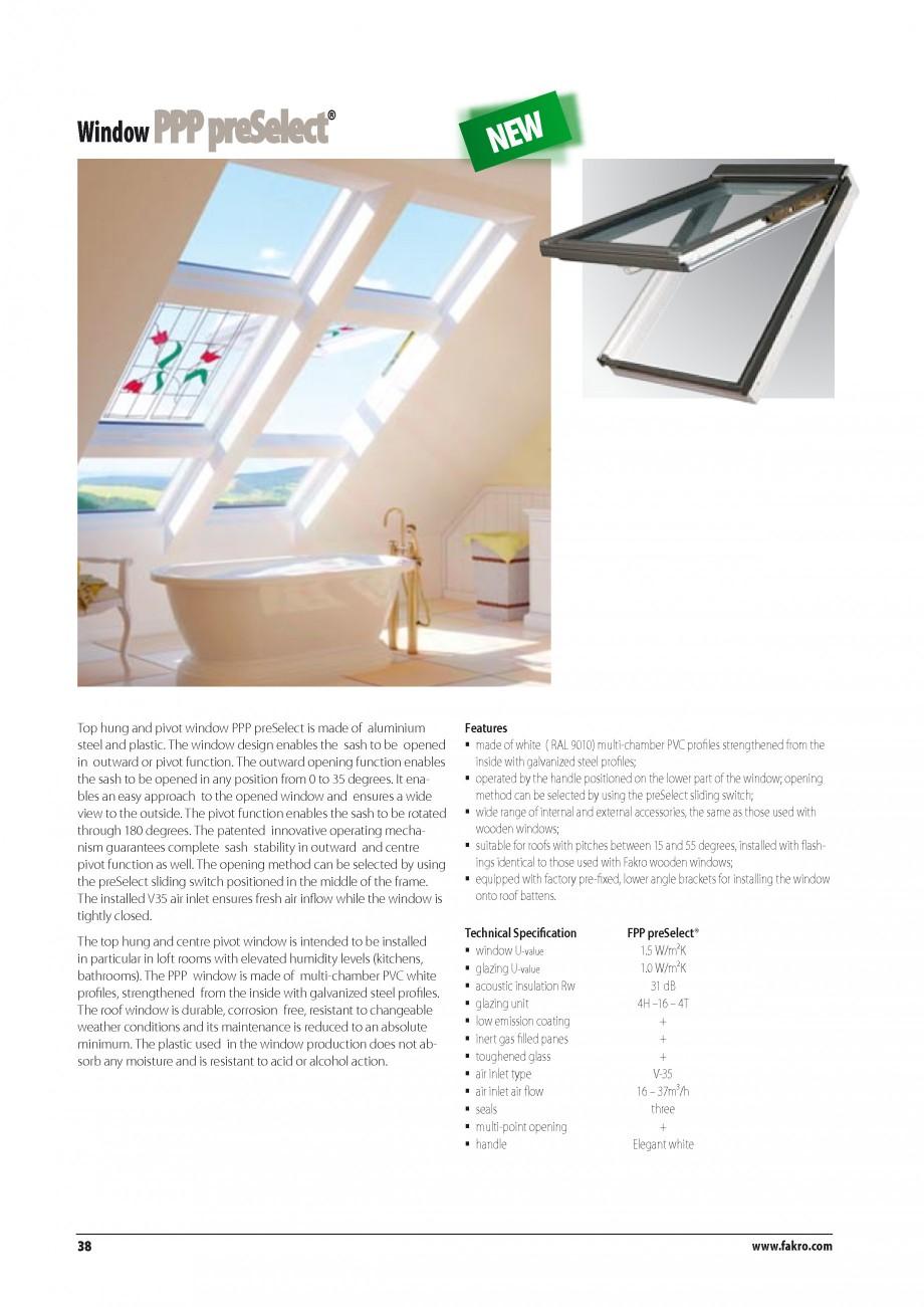 Pagina 31 - Ferestre de mansarda FAKRO BDR/ BDL, FGH-V Galeria, FTU-V Z-WAVE, FTP-V Z-WAVE, FTP-V R1...