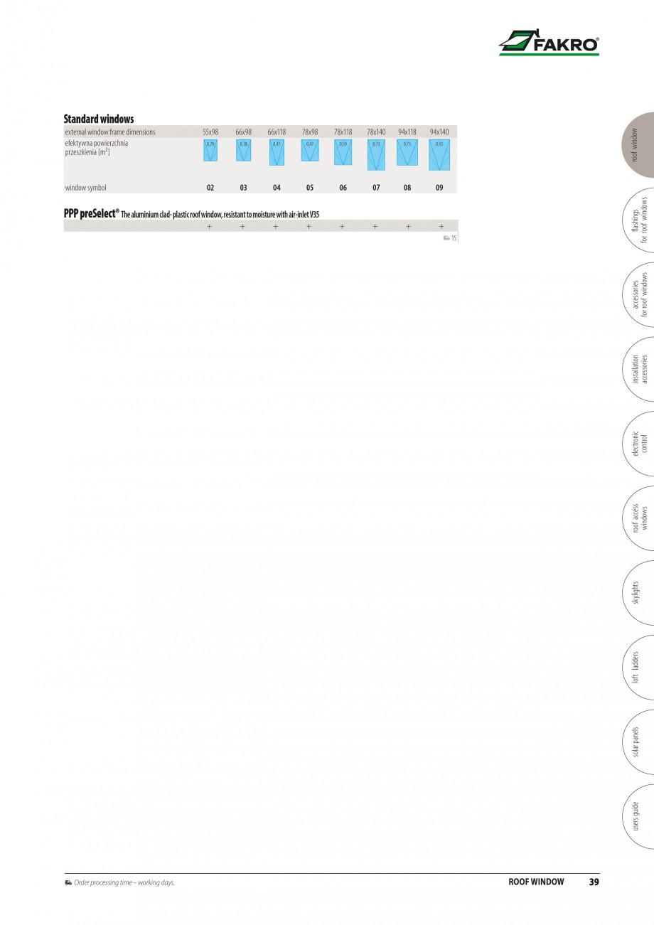 Pagina 32 - Ferestre de mansarda FAKRO BDR/ BDL, FGH-V Galeria, FTU-V Z-WAVE, FTP-V Z-WAVE, FTP-V R1...