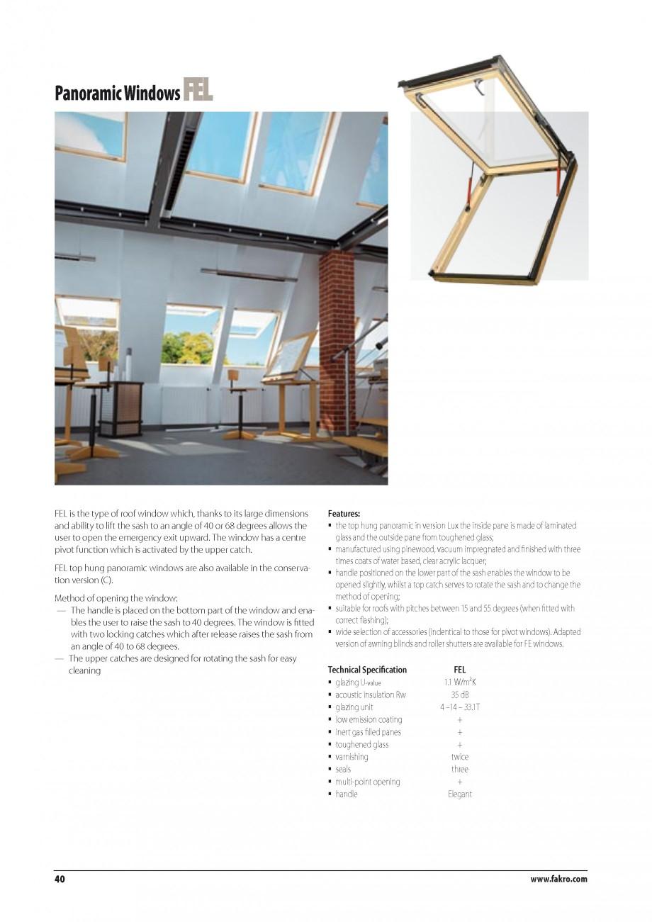 Pagina 33 - Ferestre de mansarda FAKRO ATIC, FGH-V Galeria, FTU-V Z-WAVE, FTP-V Z-WAVE, FTP R1,...