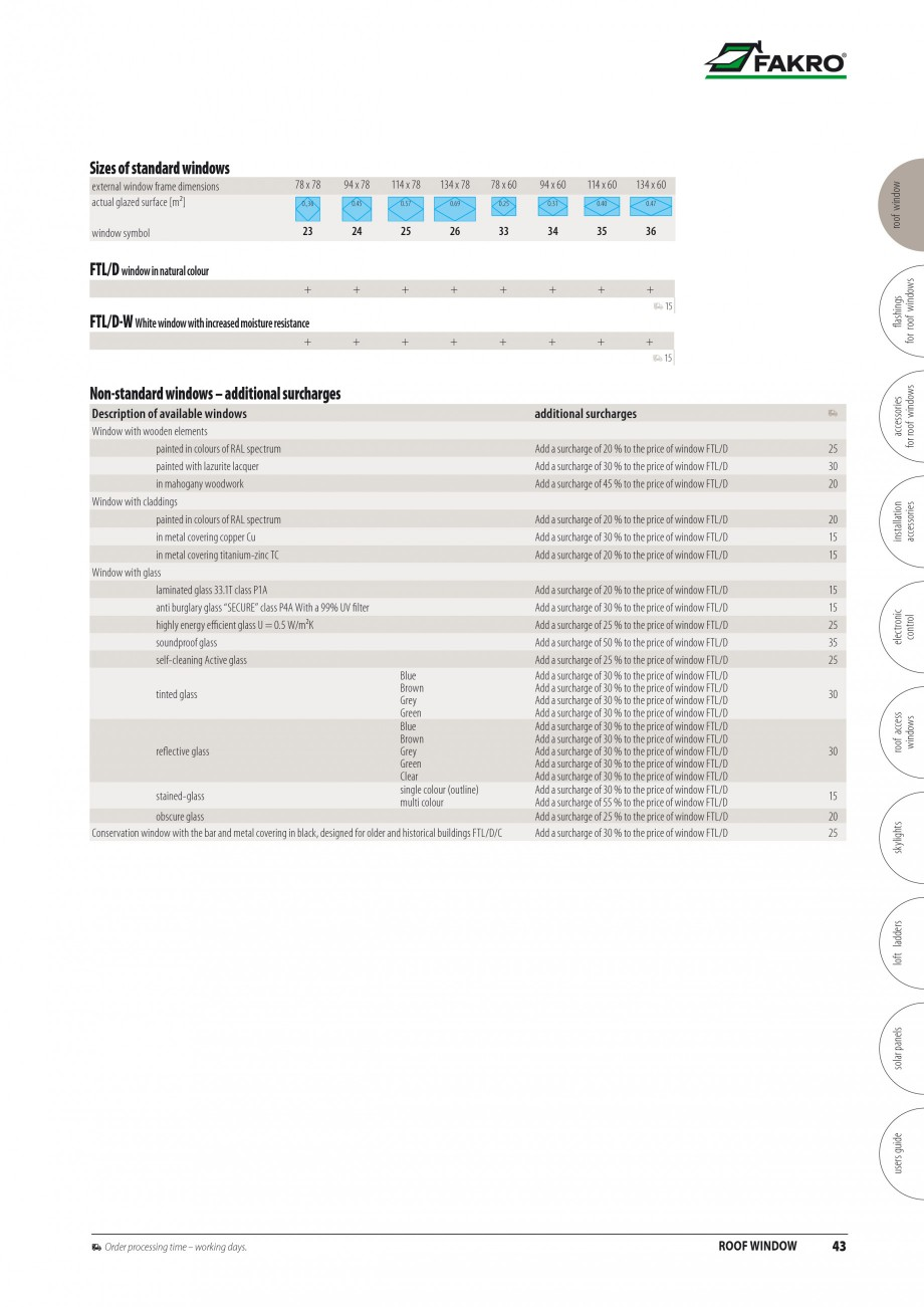 Pagina 36 - Ferestre de mansarda FAKRO BDR/ BDL, FGH-V Galeria, FTU-V Z-WAVE, FTP-V Z-WAVE, FTP-V R1...
