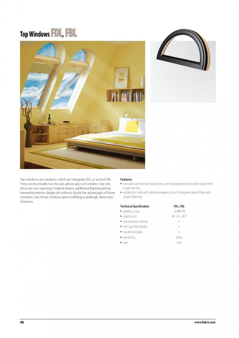 Pagina 39 - Ferestre de mansarda FAKRO BDR/ BDL, FGH-V Galeria, FTU-V Z-WAVE, FTP-V Z-WAVE, FTP-V R1...