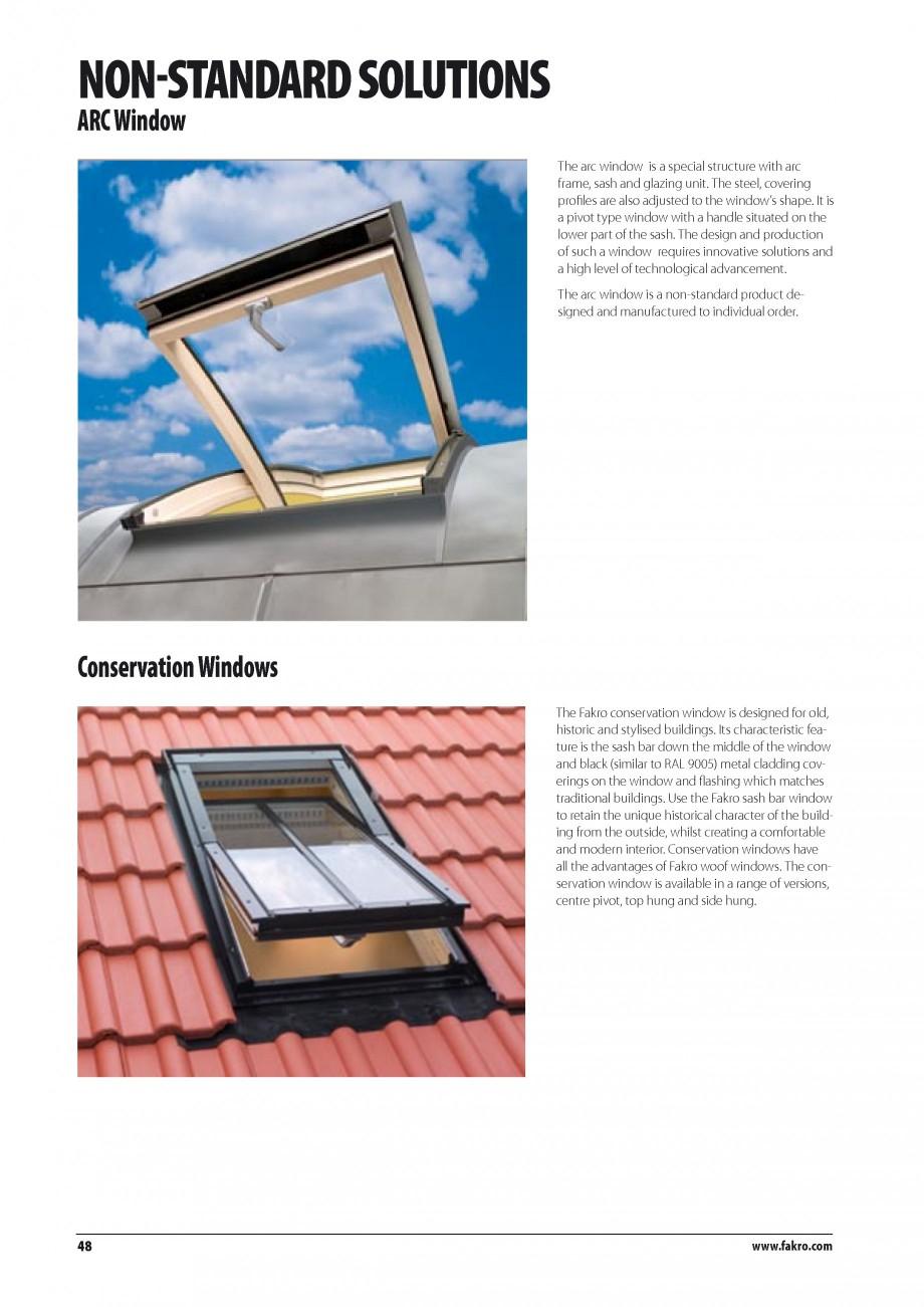 Pagina 41 - Ferestre de mansarda FAKRO BDR/ BDL, FGH-V Galeria, FTU-V Z-WAVE, FTP-V Z-WAVE, FTP-V R1...