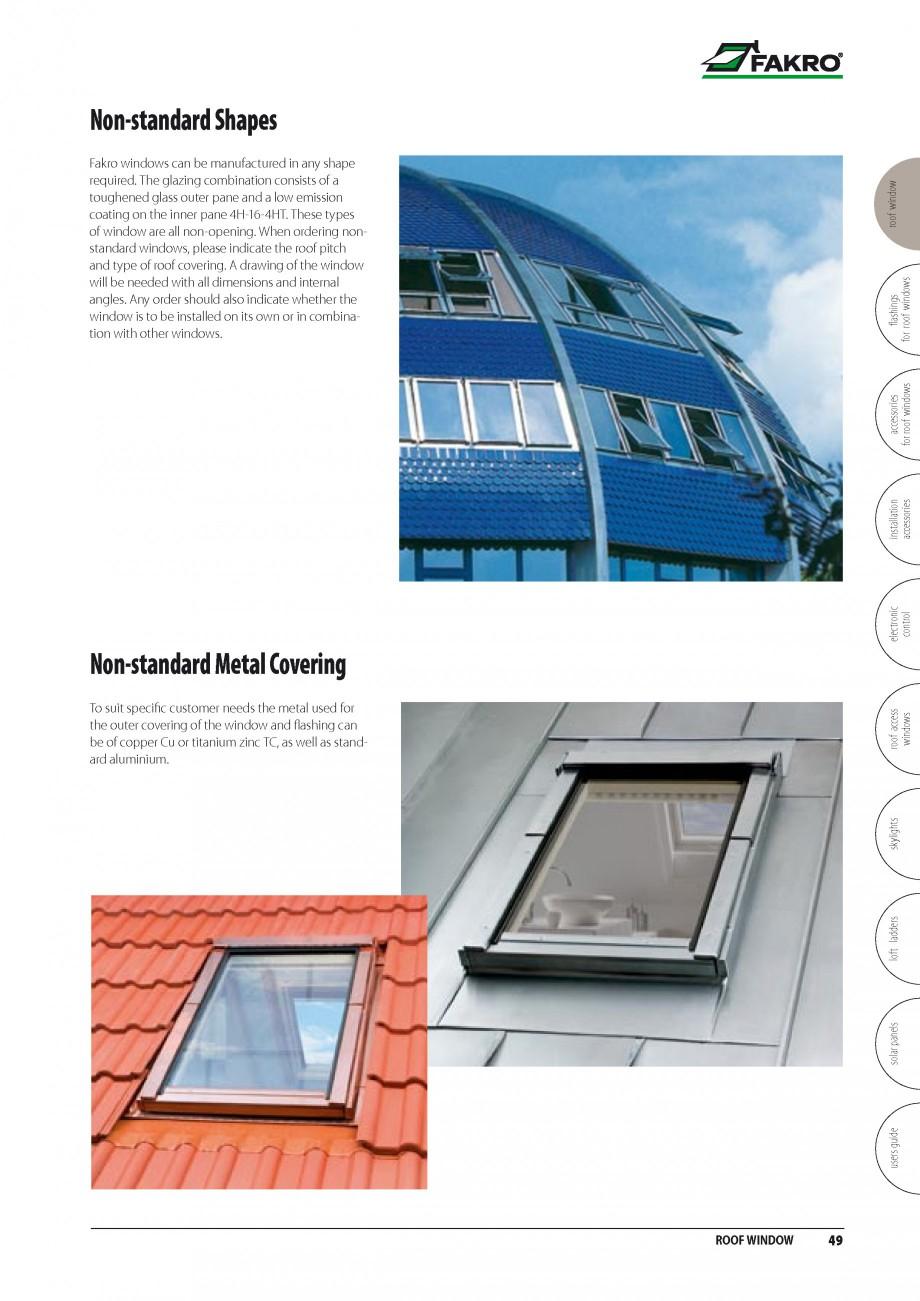 Pagina 42 - Ferestre de mansarda FAKRO BDR/ BDL, FGH-V Galeria, FTU-V Z-WAVE, FTP-V Z-WAVE, FTP-V R1...