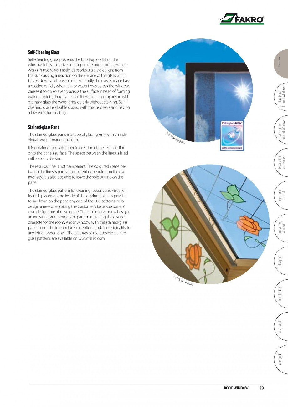 Pagina 46 - Ferestre de mansarda FAKRO BDR/ BDL, FGH-V Galeria, FTU-V Z-WAVE, FTP-V Z-WAVE, FTP-V R1...