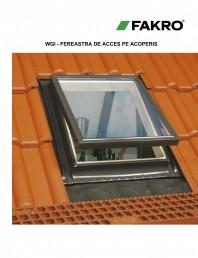 Ferestre de acces pe acoperis