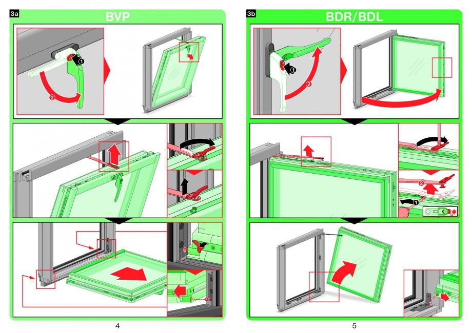 Pagina 3 - Ferestre atic FAKRO Instructiuni montaj, utilizare