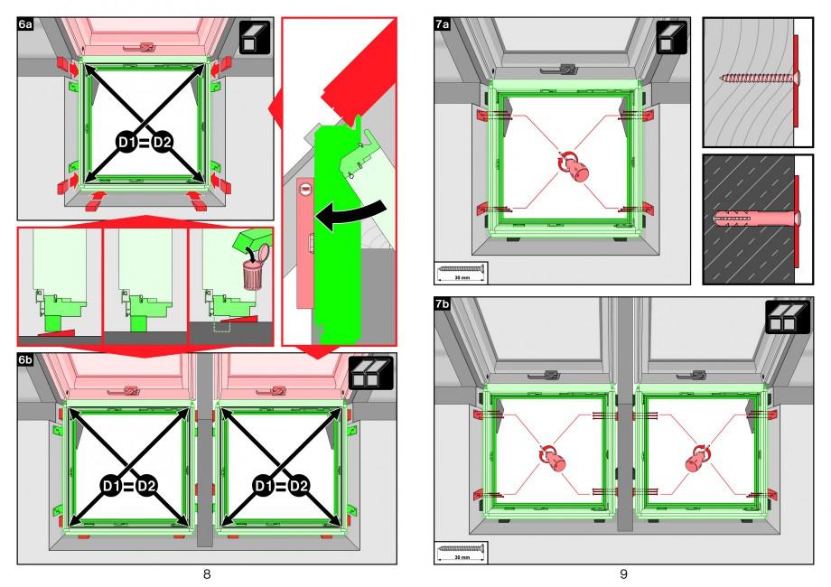 Pagina 5 - Ferestre atic FAKRO Instructiuni montaj, utilizare