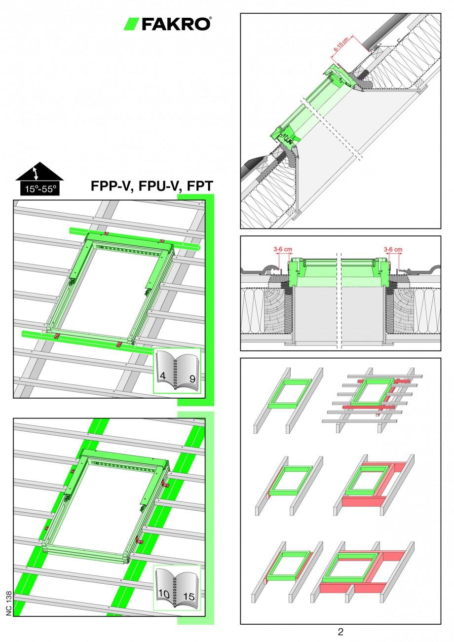 Pagina 1 - Ferestre de mansarda cu dubla articulare FAKRO FPP-V preSelect, FPU-V preSelect...