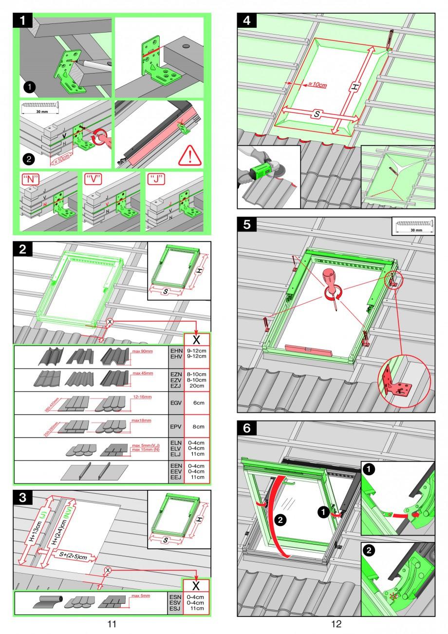 Pagina 6 - Ferestre de mansarda cu dubla articulare FAKRO FPP-V preSelect, FPU-V preSelect...