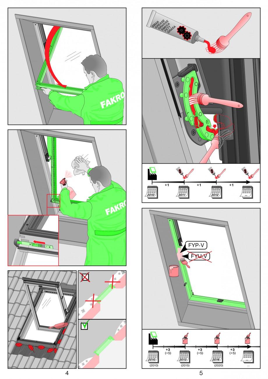 Pagina 3 - Ferestre de mansarda superinalte FAKRO FYP-V proSky Instructiuni montaj, utilizare...