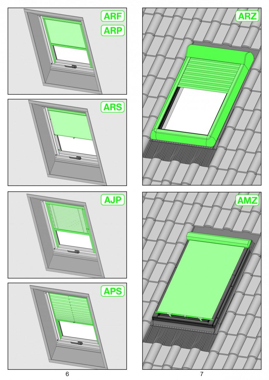Pagina 4 - Ferestre de mansarda superinalte FAKRO FYP-V proSky Instructiuni montaj, utilizare...