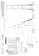 Scara modulara din lemn cu 3 module FAKRO