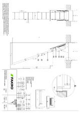 Scara modulara din lemn cu 4 module FAKRO