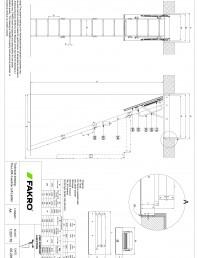 Scara modulara din lemn cu 4 module