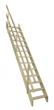 Prezentare produs Scara universala din lemn de molid FAKRO - Poza 5