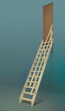 Prezentare produs Scara universala din lemn de molid FAKRO - Poza 6